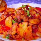 干锅土豆这样做好吃😋#美食##寒冬里的美味##精选#