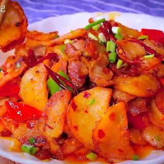 干锅土豆这样做好吃😋#美食##...