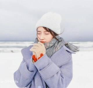 《北海道手机旅拍攻略上集》摄影教程 两分钟教你拍出最美的雪景 出镜@唐雨糖_Amy #手机摄影#摄影教程#北海道##雪景#