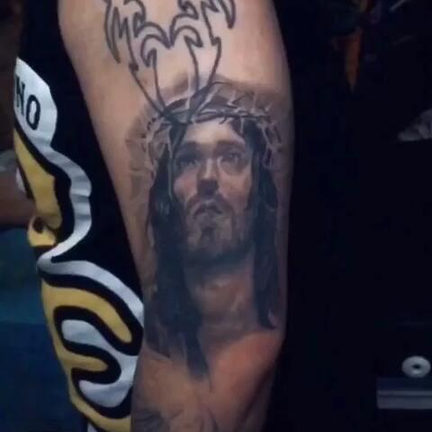 【百鬼夜行刺青美拍】耶稣,恢复好后