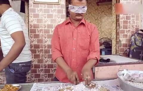【发现网美拍】日本印度美国和中国顶级厨师刀功...