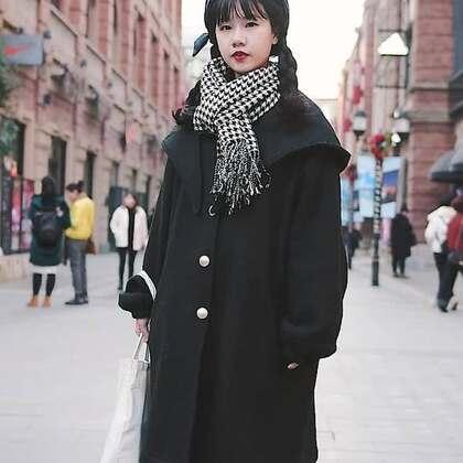 3套武汉街拍美女LOOK,冬天告别臃肿,不仅时髦还要有温度!#时尚穿搭##冬季穿搭##时尚搭配#