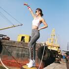 在美拍的第二张图片哟#运动##健身#