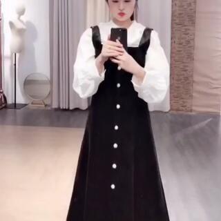 #穿秀# 很可爱的娃娃裙