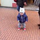 一听音乐就扭屁股的森哥😂😂😂#宝宝##Yusen十三个月#