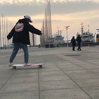 New trick 😃#time to switch##运动#