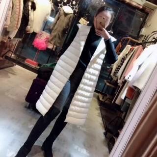 轻薄羽绒马甲,搭双面羊绒超好看 又暖和#穿秀#