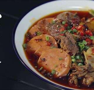 烫一份四川冒菜,吃一个人的火锅,巴适得板!#厨男冬阳君##美食##四川冒菜#