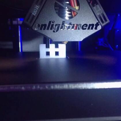 最近在玩3D打印机。好炫酷啊…好想夸夸自己😂#手工#