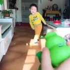 如果生孩子不是用来玩的那将毫无意义。😂😂😂#搞笑##宝宝#
