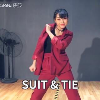 喜欢红西服#舞蹈##编舞##莎日娜#