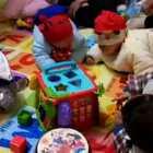 #宝宝##小Luca乐园#宝宝大聚会!😘😘😘