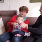 #宝宝##温馨##荷兰混血小小志&柒#长辈的幸福时刻!