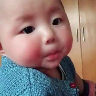 #宝宝#今天刚学会的新技能😄