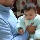 #宝宝##精选#父子感情深啊!宝宝已经会跟爸爸撒娇了!😘😘😘