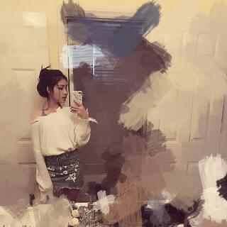 #照镜子##鸡年第一个自拍##放学后#