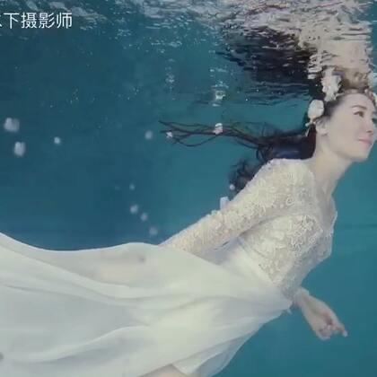 2000多公里外飞来拍摄水下的满族姑娘#水下摄影##水下写真##福州水下摄影#