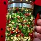 #辣椒咸菜##热门##美食#喜欢双击加关注,每天分享美食教程。