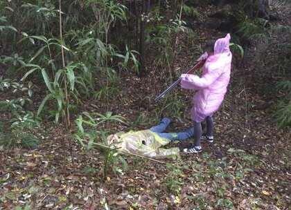 男女职员到深山野外打猎,结果出事了!#疯狂于小源#