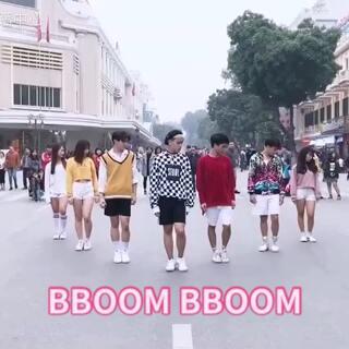#舞蹈##我要上热门@美拍小助手#BBOOM BBOOM - Momoland - Dance cover by Oops from Vietnam Ft. MINGYANG(KINGSMAN)