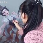 《提线木偶》我们就好像被现实操控一般 总是感觉有很多事情是求而不得 不知所为的#画画##