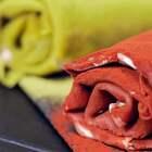 网红毛巾帕帕卷,一个平底锅在家就能做!#厨男冬阳君##甜品##网红毛巾卷#