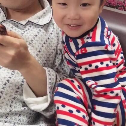 #宝宝#邱小宝今天出道了……哈哈哈