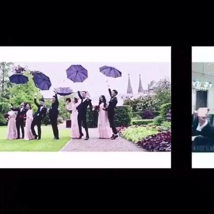 #U乐国际娱乐##精选#史上最帅气的伴郎团