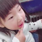 用手指涂口红😂😂😂#宝宝##搞笑的emy##精选#