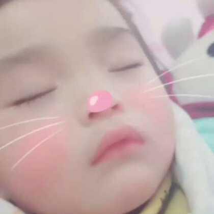 #baby shark#宝宝睡着了。