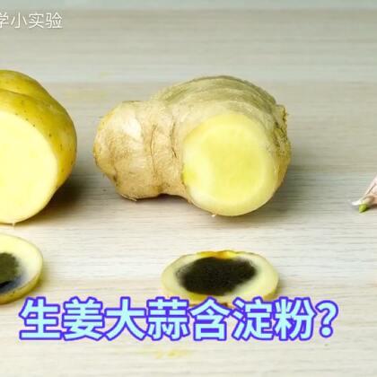 #手工#生姜大蒜到底含不含大蒜?今天总算搞明白了#科学小实验##科普#