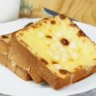 超火爆的新西兰网红甜品:岩烧乳酪#美食##吐司的N种吃法##吐司#