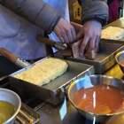 【日本美食】 日本街头现做美味的日式厚蛋烧!松软多汁,入口甜滑!#美食##我要上热门##精选#@美拍小助手