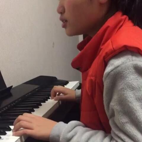 2018.2.2小静小朋友的钢琴课学习 G大调苏格兰舞曲 双 小精灵艺术中心??菲菲的美拍