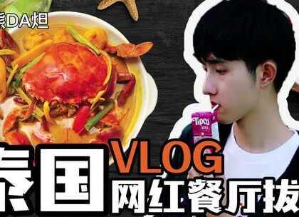 【泰国vlog之网红餐厅拔草篇】 火到国内的泰国网红餐厅真的好吃吗? 没想到人气超高的水信玄饼竟然像在国内街头随处可见的…#日志##美食#
