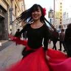 #舞蹈##despacito#我在西班牙跳西班牙神曲,舞蹈《Despacito》可以在全世界跳舞真是太幸福太美好了❤️