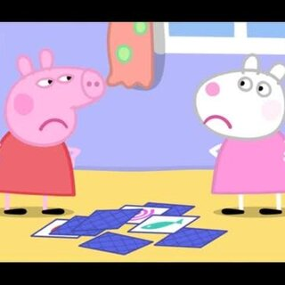 #宝宝##小猪佩奇##粉红猪小妹# 苏西和佩奇吵架了 😭 佩奇说,他和苏西不再是最好的朋友了 😂