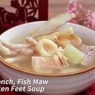 #美食# 这个蜜瓜汤用料丰富,味道清甜而且补气滋阴。收看更多精致美食内容,欢迎订阅日日煮DayDayCook! #养生##食谱#