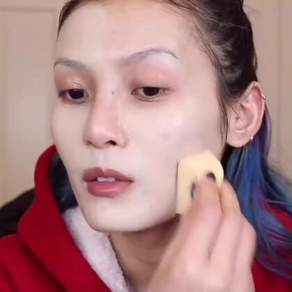 【五泵粉底液上妆测评(下)】用十分钟的视频证明这个方法有多鸡肋,还是建议妹子们少量多次!千万不要急于求成!#美妆##美妆时尚##化妆#