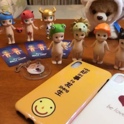 """#购物分享#给大家来摘盲盒啦🤩喜欢记得转发哟💕大家评论""""mmd""""会出现什么呀?weibo:-Wennndy"""