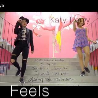 #舞蹈# 嘿...编舞作品《Feels》 感觉怎么样?@SPY舞蹈中心