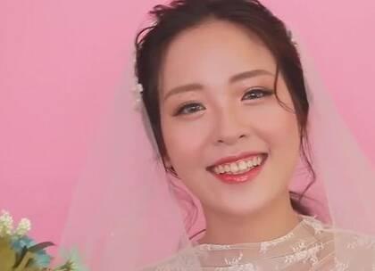 #美妆时尚##我要上热门#韩系新娘妆容,简洁大气就是最美!😍😘#新娘妆#