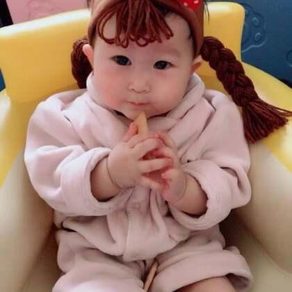 小妞妞 👧🏻#宝宝#
