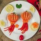 大红灯笼除了高高挂还能上餐桌,超逼真灯笼虾美翻你的年夜饭#吉祥年菜##美食##我要上热门#