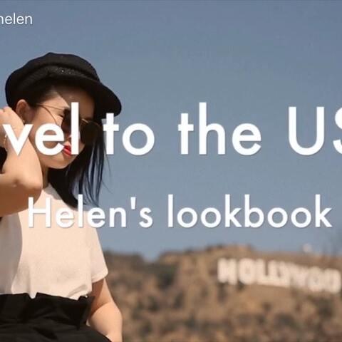 【官小炜helen美拍】美国旅拍- -城市篇 (时隔四个月...