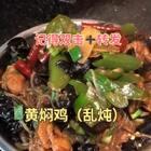 哈哈哈今天做了个炒锅版的黄焖鸡,还加了粉条……😂玩手机玩到粉条烂了汤还少了,但还是好吃的。#美食#