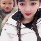 这是我妹妹,今天我们去滑雪咯,现在在吃早餐🥣#日常#