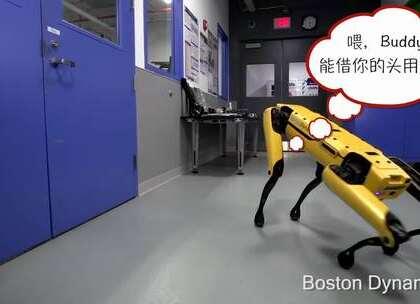 研发机器人很厉害的波士顿动力公司日前又发布了一段长约1分钟的视频,虽然这次视频的内容还是他们的SpotMini机械狗,但这次最大不同的是第1只SpotMini为了达到某个目的,而呼叫第2只SpotMini前来帮忙。
