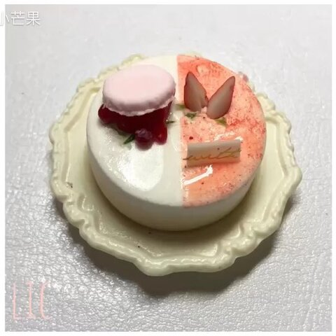 【Mangooo`美拍】#手工#Strawberry Macaroon/点一...