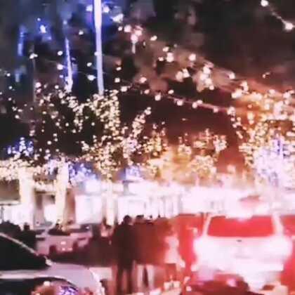 千年古镇的夜景#过年了,新年快乐!#@美拍小助手